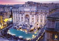 тур Рим Милан - фонтан де Треви