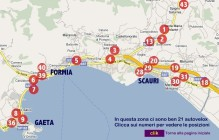 карта Формия